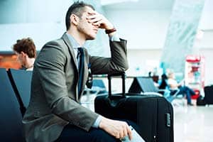 Avoiding the worst of airport security delays